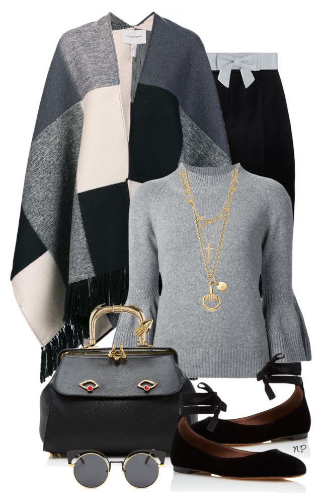 Sweater Season by nuria-pellisa-salvado on Polyvore featuring moda, Carolina Herrera, Lanvin, Tabitha Simmons, Inés Figaredo, Gucci, Paul & Joe, StreetStyle, Sweater and polyvorecommunity