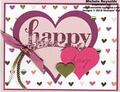 Happy Wishes Valentine Hearts