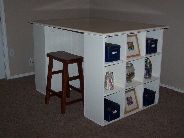I Need To Make This: Scrapbooking Table! | Do It Yourself Home Projects From