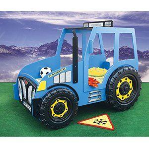 Kindermöbel Kinderbett Traktor