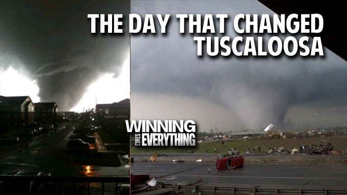 The Day That Changed Tuscaloosa:  Remembering the Alabama tornadoes.