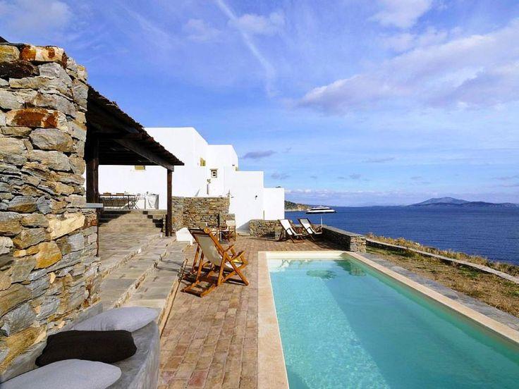 """Villa Nascosta"" in Cycladen, Griekenland."