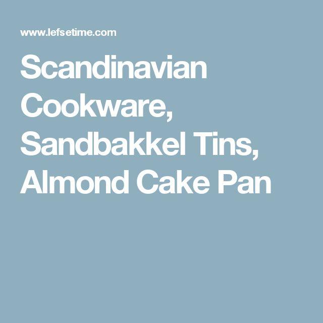 Scandinavian Cookware, Sandbakkel Tins, Almond Cake Pan