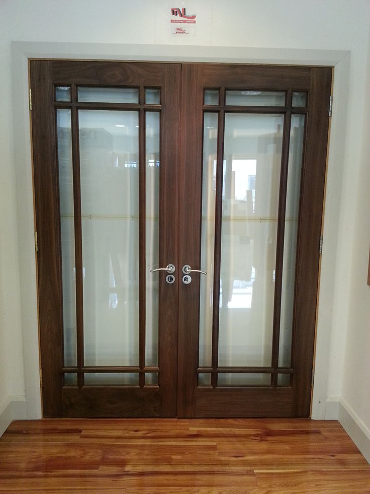 Increase your light level into any room with our fully glazed walnut doors. & Best 25+ Fully glazed doors ideas on Pinterest | Contemporary ... Pezcame.Com