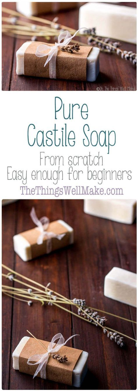 Easy Pure Castile Soap Recipe   – Southslope
