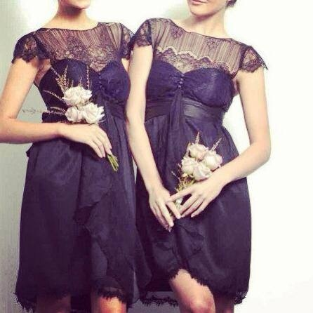 Anna Campbell dresses, bridesmaids.