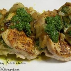 Pesto Stuffed Pork Chops | ~ Wonderful Food ~ | Pinterest