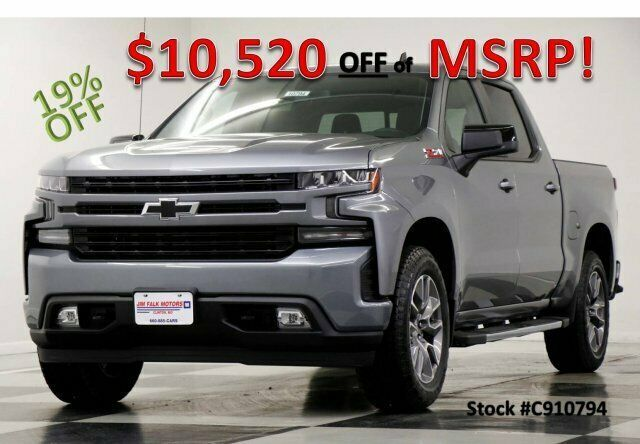 Ebay Advertisement 2019 Chevrolet Silverado 1500 Msrp 56270 4x4 Rst Z71 Sunroof Satin Steel Crew New Hea Silverado 2500 Hd Chevrolet Silverado 2019 Silverado