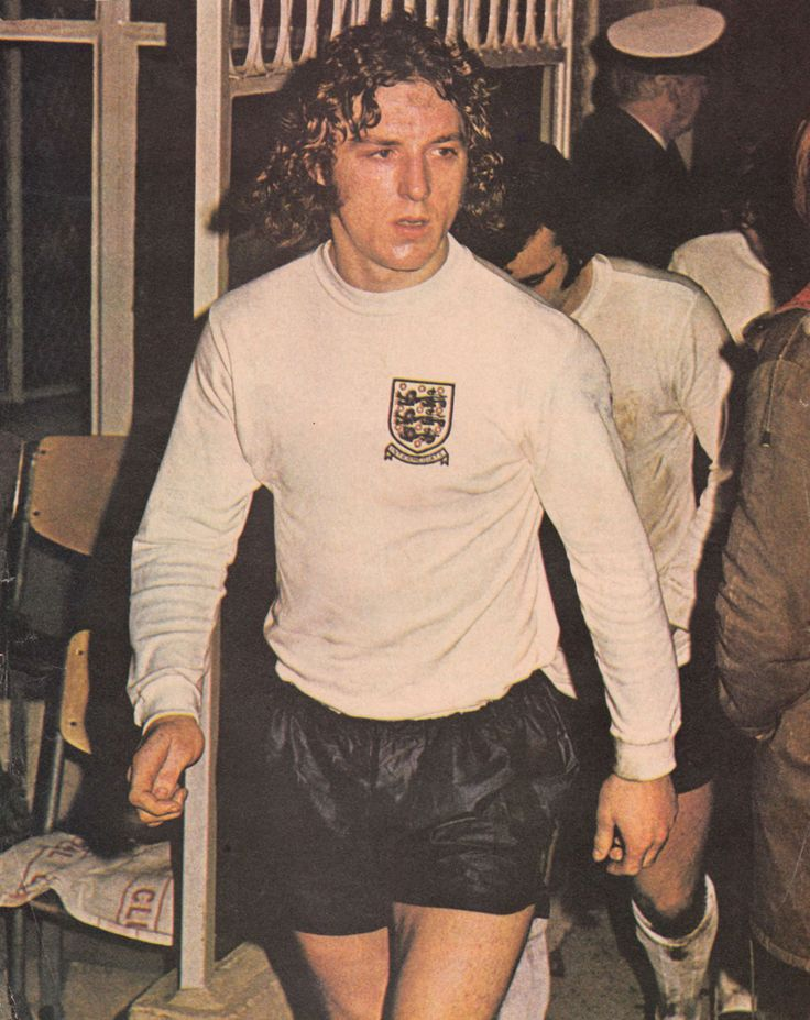 2nd January 1973. Ipswich Town defender Kevin Beattie making his England Under-23 debut against the Natherlands.