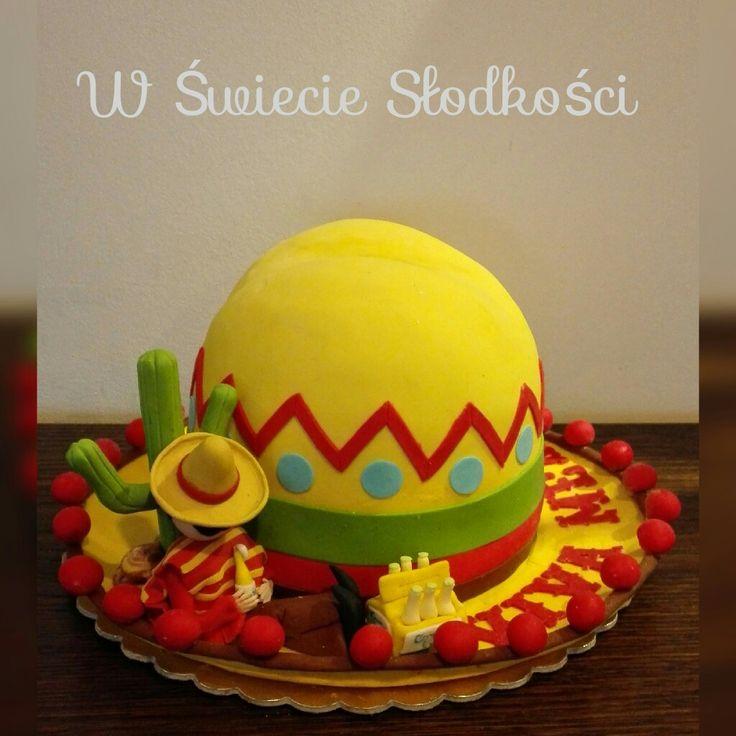 Sombrero cake idea