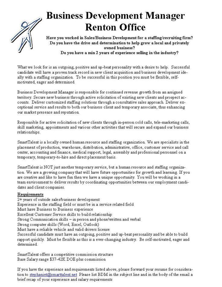 10 best Internal Job Opportunities for SmartTalent images on - staffing recruiter resume