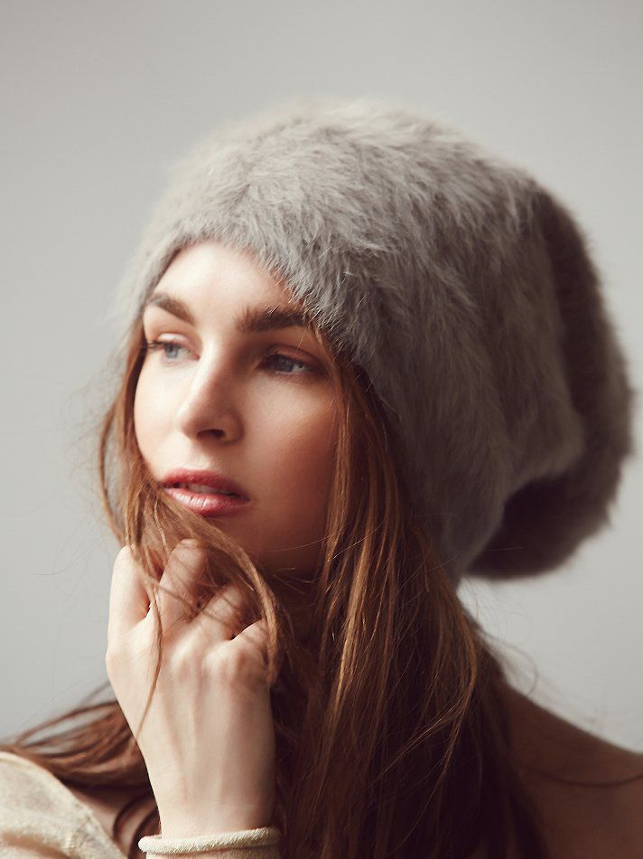 Free People Grizzly Brushed Beanie at Free People Clothing Boutique