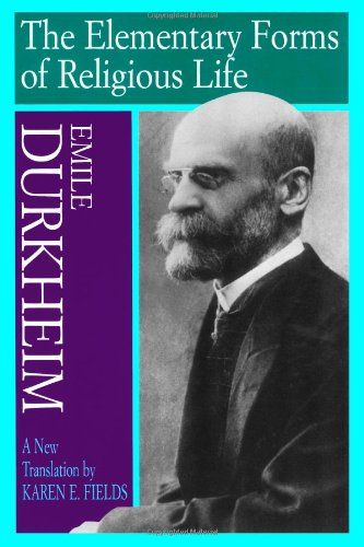 emile durkheim the elementary forms Essays and criticism on Émile durkheim's the elementary forms of the religious life - critical context.