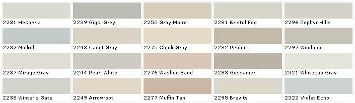 pratt and lambert colors brights neutrals off whites lights. Black Bedroom Furniture Sets. Home Design Ideas