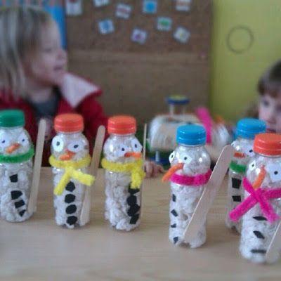 Actividades para Educación Infantil: 12 MANUALIDADES DE INVIERNO