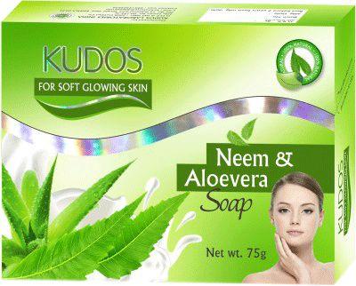 Kudos Neem Aloe Vera Soap 75gm Buy Online at Best Price in India: BigChemist.com