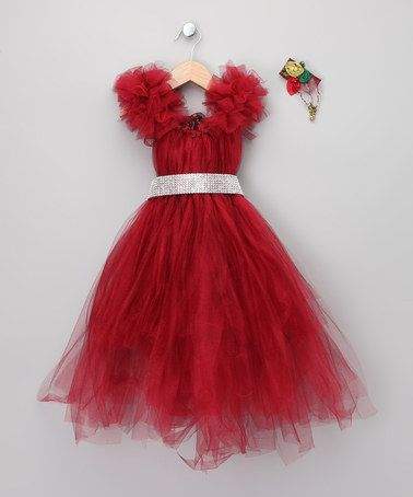 Take a look at this Red Christmas Dress Set - Toddler & Girls by The Nutcracker Collection on #zulily today!