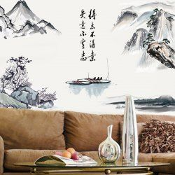 Asian decor, wall decor, nature, bliss, mountains  GET $50 NOW | Join Sammydress: Get YOUR $50 NOW!http://m.sammydress.com/product2784995.html?seid=1796476rg2784995