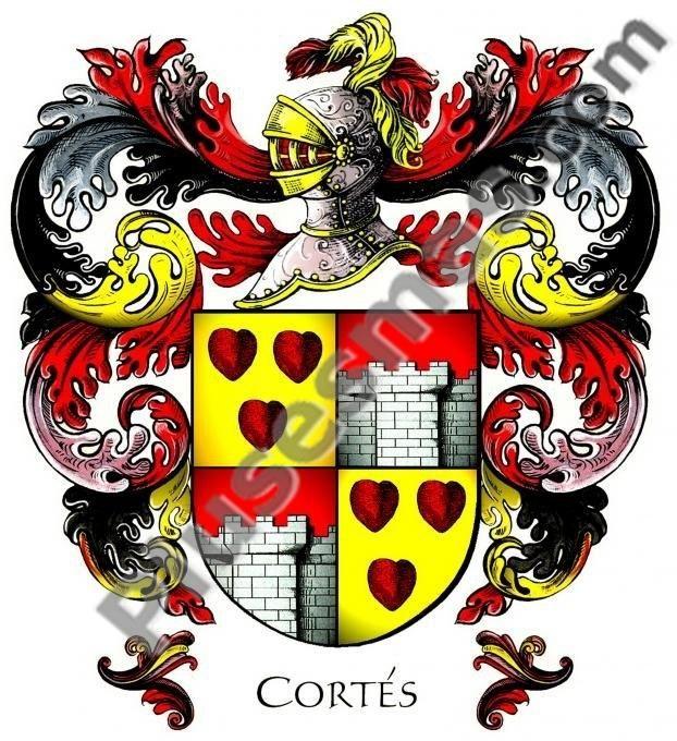 Escudo del apellido Cortés