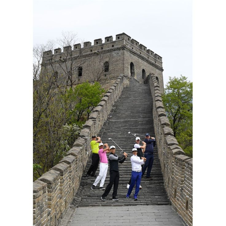 Six of the biggest golfing names competing in this weeks Volvo China Open made sure of their tea time during a special visit to the Great Wall of China today (April 25). Defending champion Li Hao-tong and fellow Chinese stars Wu Ashun and Zhang Lianwei joined Englands Chris Wood and Danish duo Thorbjorn Olesen and Thomas Bjorn for a traditional Chinese tea ceremony on a watchtower of the nations most recognisable landmark. Flanked by armed ceremonial guards the six star players were given a…