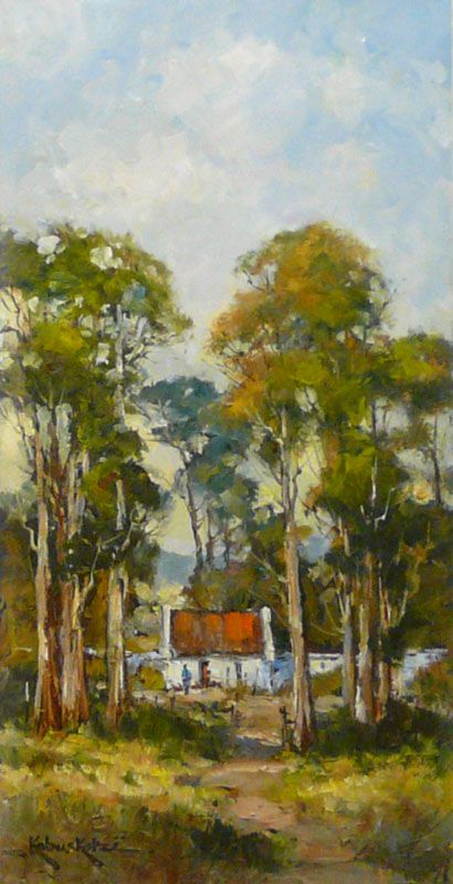Trees by Kobus Kotze | Dante Art Gallery