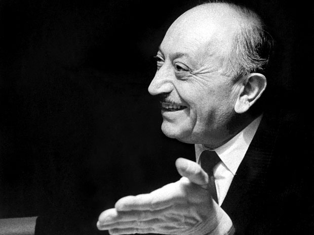 Simon Wiesenthal - a Jewish-Austrian Holocaust survivor who became famous after World War II for his work as a Nazi hunter.