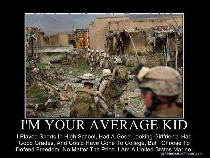 "Marine Corps Quotes Delectable Thank God For ""average Kids"" Like That As If A United States Marine"