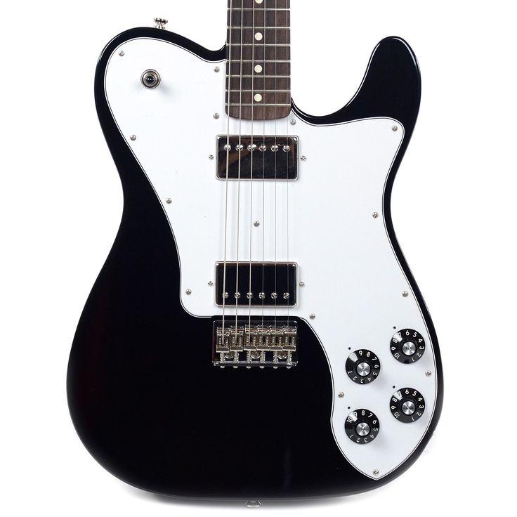 Fender Chris Shiflett Telecaster Deluxe Black