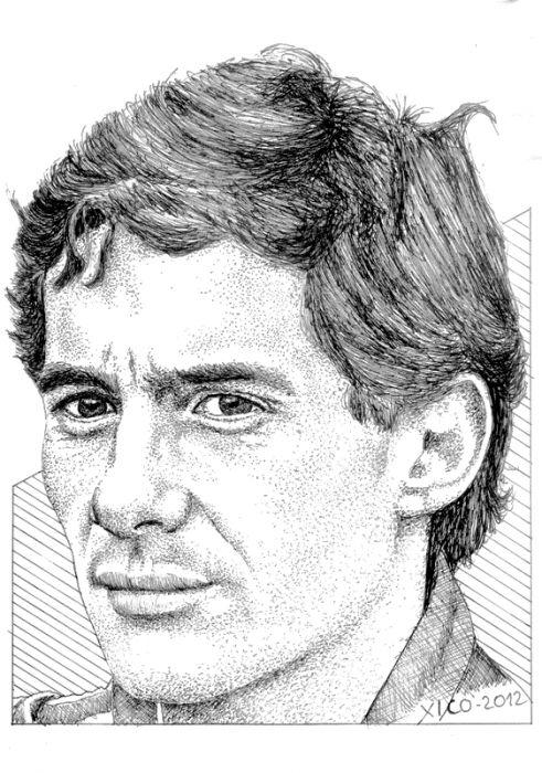 Ayrton Senna by FCARLOS                                                                                                                                                                                 Mais