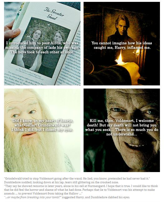 Albus Dumbledore & Gellert Grindelwald - Harry Potter and the Deathly…