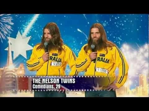Nelson Twins - Australia's Got Talent 2012 #TheNelsonTwins #Comedians #Comedy