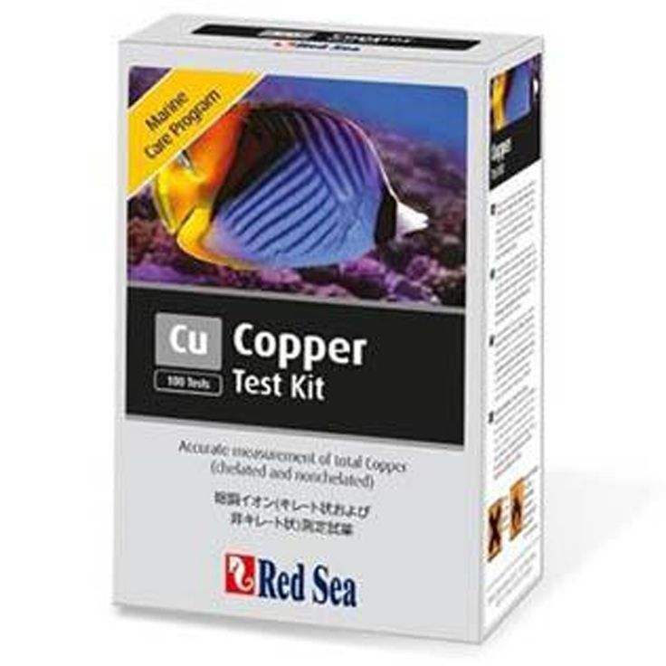 Red Sea MCP Copper Cu Test Kit Saltwater