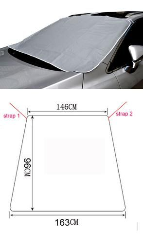 Anti Snow  Windshield Cover windshield cover for snow frost guard