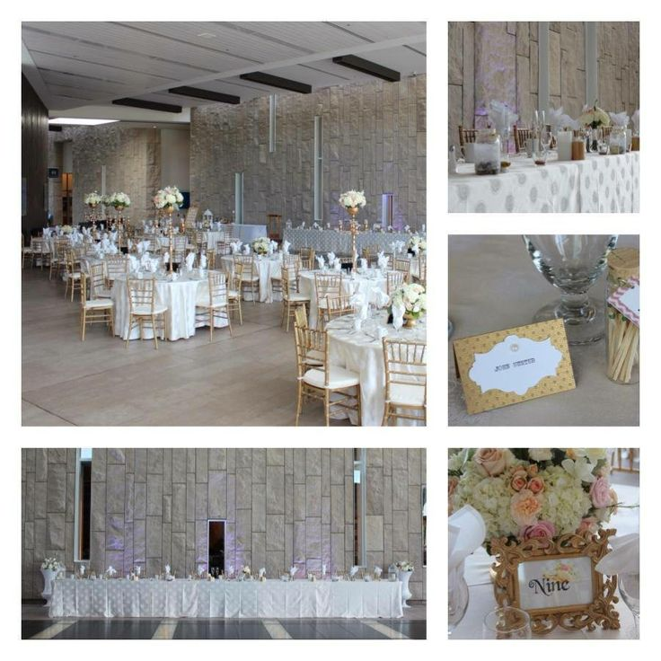 our gorgeous Gold and White themed wedding at the Waterloo Region Museum