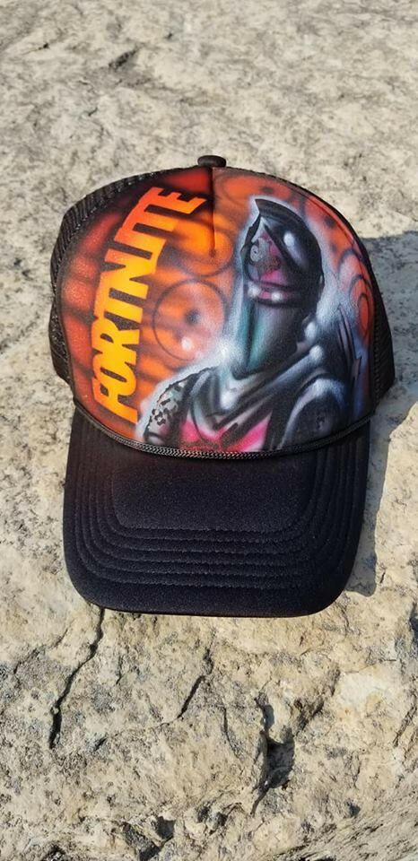 9968173e64b Fortnite black Knight Airbrushed Custom Gamer Snapback hat gaming cap   fortnite  fortnitebattleroyale