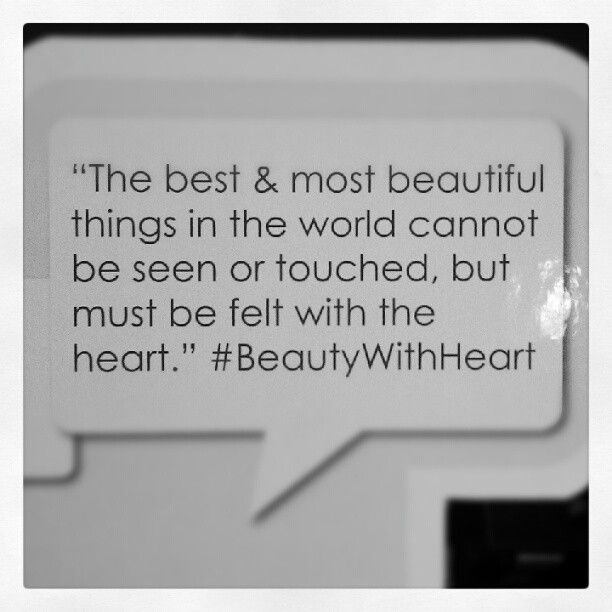"""""""Agree?"""" #BeautyWithHeart"""