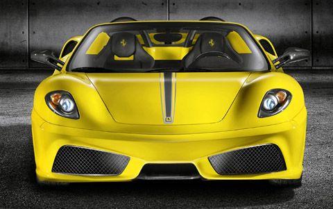 2009 Ferrari F430 Scuderia Spider 16M kuning