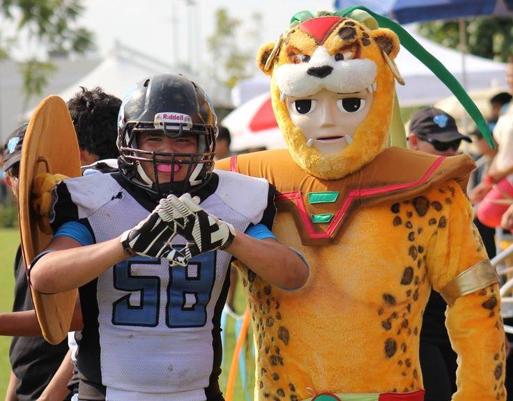 Nuestra mascota el Guerrero Jaguar