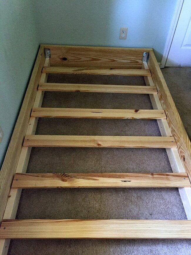A Simple DIY Bed Frame Keri Lynn Snyder Modern Design