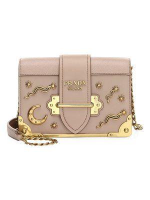 e149b0e47f96fb Prada | purses and handbags | Leather crossbody bag, Prada, Leather ...