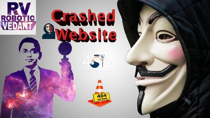 How does a hacker crash a Website?..........DOS............................