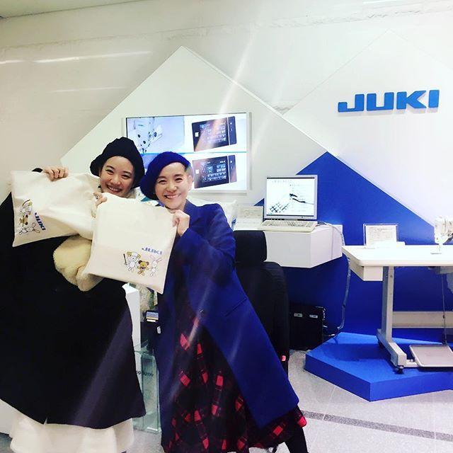 あおい優ちゃんと手作りツアー☆ミシンメーカーJUKIショールームに見学に来ました☆! #多摩センター本社