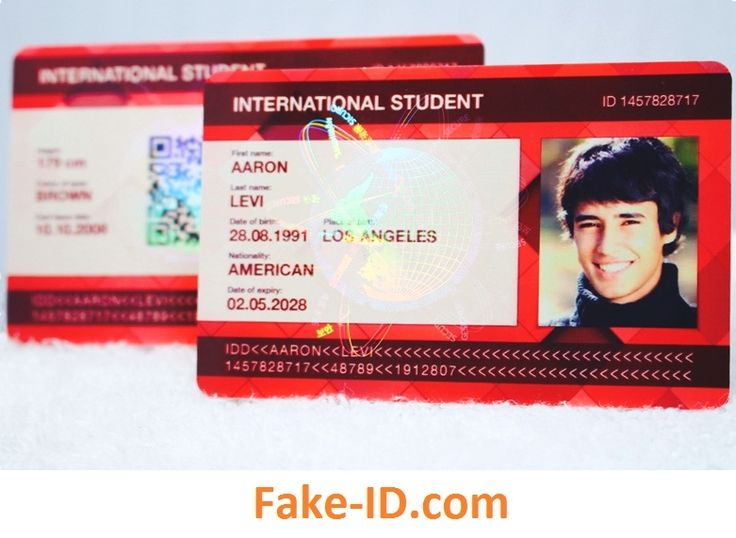 Buy Fake ID Online, Photo ID, Student ID with Holograms ID ...