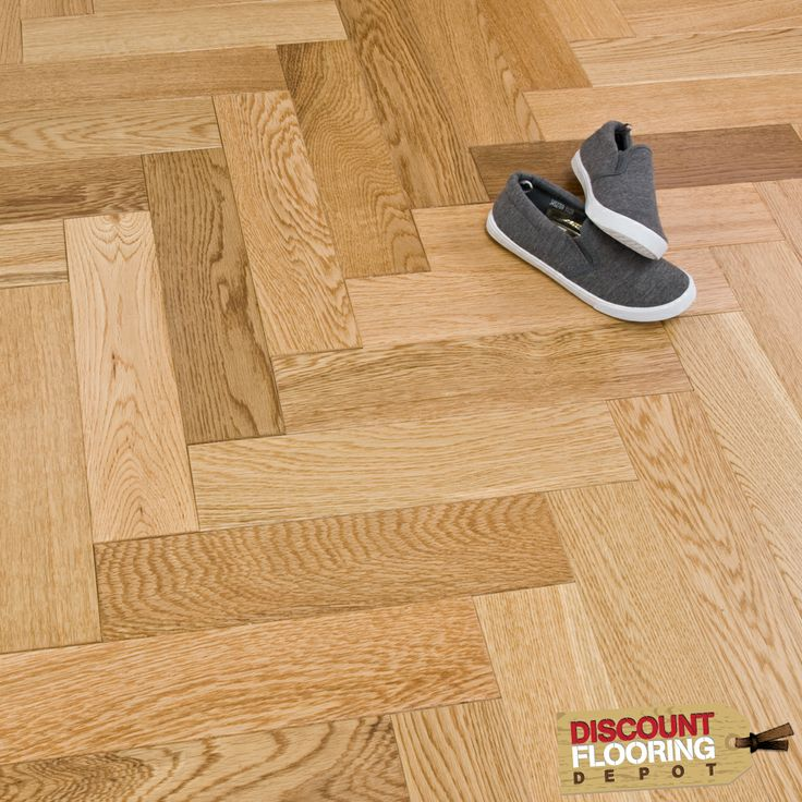 """The ultimate luxury flooring - Our Solid Herringbone Parquet Lacquered floor will make you the envy of everyone who comes into your home.Traditionally associated with the upper classes and grand country homes, we have made this parquet floor totally affordable and absolutely irresistable! One thing that is important to note with this floor.This Parquet floor will make a bold impression when laid in the classic """"Herringbone"""" pattern with a lacquered finish to add a slight sheen to the…"""