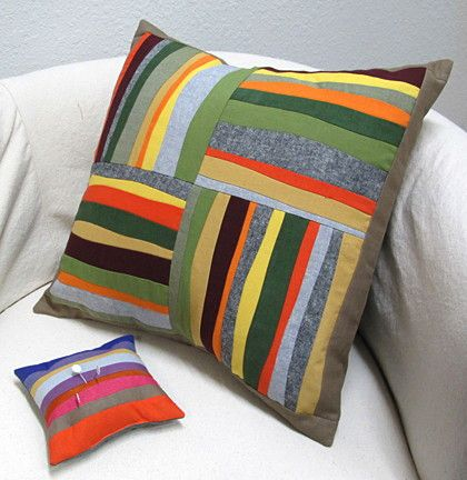 Piece and Play with Jean Wells: Project #1 four Patch Pillow - Blog   Stitchin' Post