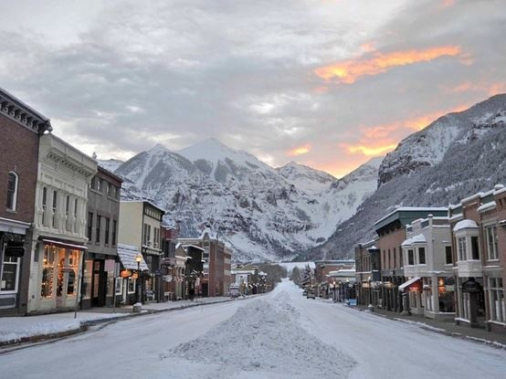 Telluride, Colorado, ranked one of the best ski resorts