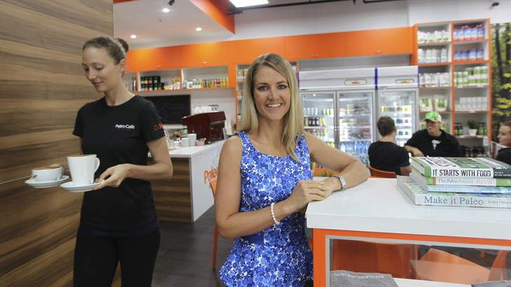 No hunting-gathering required: Marlies Hobbs, founder of the Paleo Cafe at Bondi Junction.
