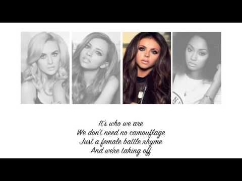 Little Mix - Salute (Lyrics + Parts on Screen) 1 of my newest song obsessions.