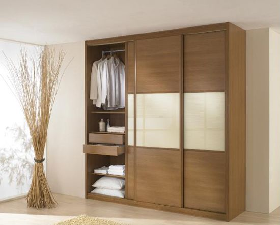 25 best ideas about armoire porte coulissante on for Dressing armoire
