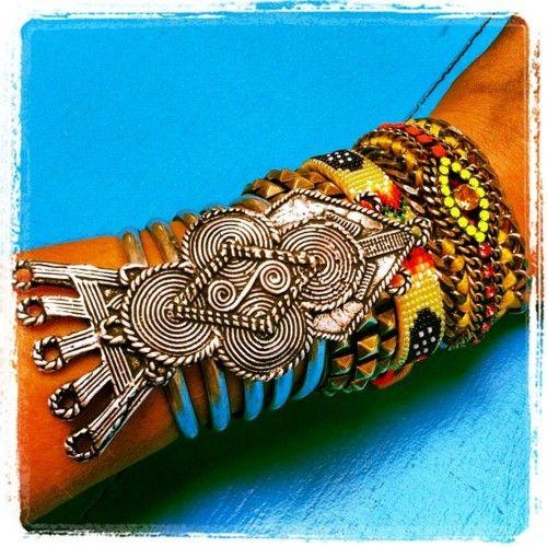 Woodstock revival ~ bracelet in the mix by Dannijo
